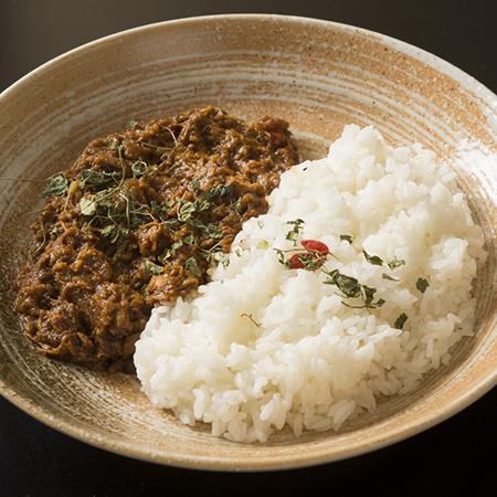 鶏と生姜の煮込み薬膳カレー